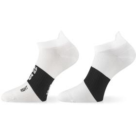 ASSOS Hot Summer Calcetines, blanco/negro